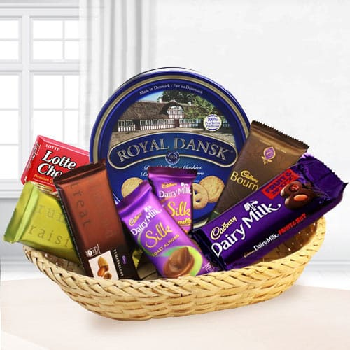 Graceful Festive Carnival Chocolate Hamper