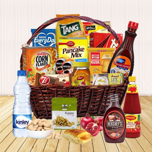 Hypnotic Festive Selection of Goodies English Breakfast Hamper