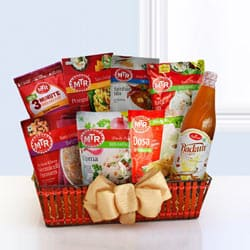 Full of Flavor South Indian Lunch Hamper