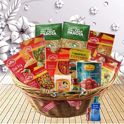 Delicious Flavor-Full North Indian Dishes Dinner Hamper