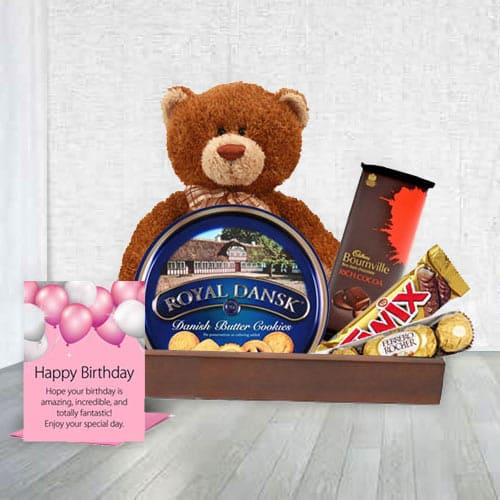 Deluxe Happy Birthday Gift Set<br>