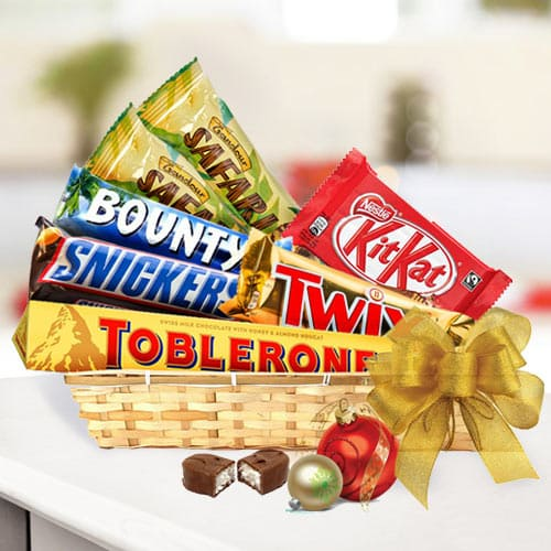 Awesome Chocolate Essential Gift Basket<br>