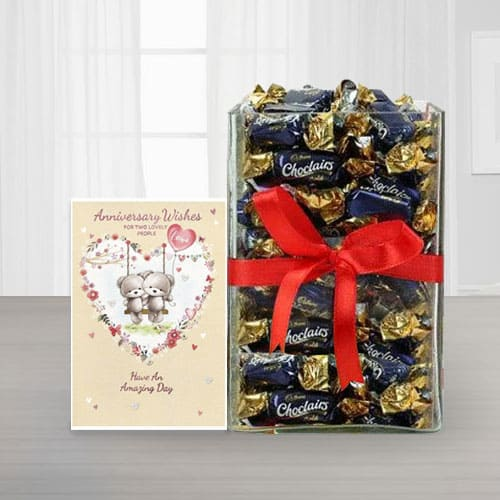 Special Anniversary Chocolate Hamper<br>