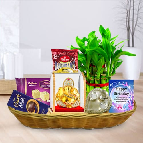 Birthday Wishes Gift Basket<br>