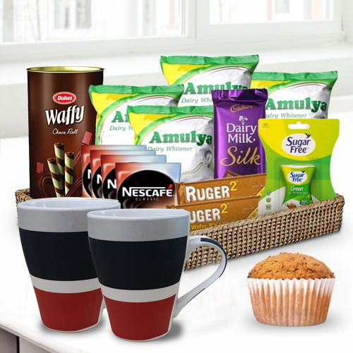 Thoughtful Delicacies Gift Basket for Him <br>