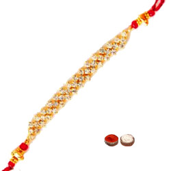 Remarkable One Long Bracelet Design Rakhi