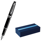 waterman hemisphere black lacquer CT