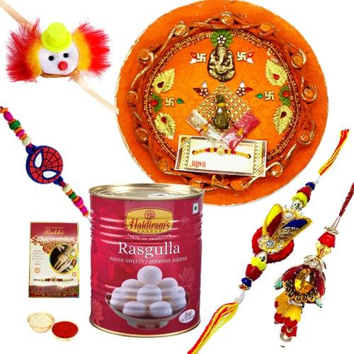 Flavorfull Rakhi Asssemblage