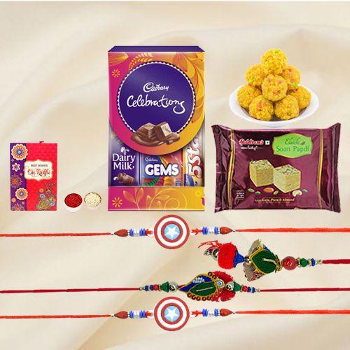 Yummy Rakhi Assortment