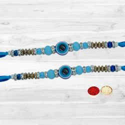 Fengsui Rakhi Set (Evil's Eye Rakhi Set)