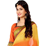 Cool and Cozy Georgette Printed Saree