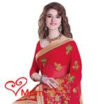 Elegant Embroidered Tussar Silk Saree