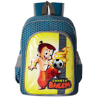 Impressive Chhota Bheem Design Blue School Bag