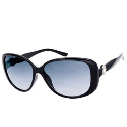 Rocking Ladies Opium Oval Sunglasses - Black