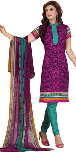 Trendy Women's Favourites Siya Brand Printed Salwar Suit