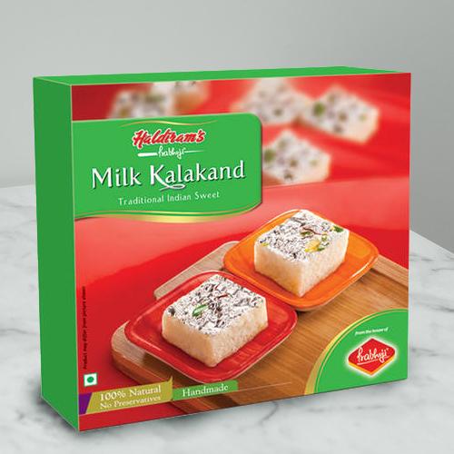 Haldirams Longing�s Comfort Milk Kalakand Sweets Box