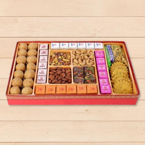 Haldirams Augmenting Weakness Milk Cake Sweets Box