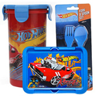 Classy Kids Special Hot Wheels Designed Tiffin Set