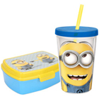 Smart Looking Kids Special Minions Designed Tiffin Set