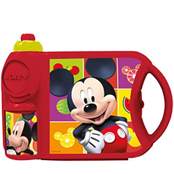 Splendid Off to School Mickey Design Combo Tiffin Set