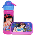 Arresting Off to School Disney Snow White Design Tiffin Set
