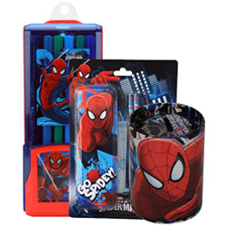Fancy Spider Man Designed Stationery Set for Lovely Kids