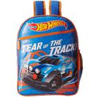 Lovely Hot Wheels School Bag in Blue n Orange Color