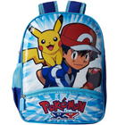 Smashing Kids Special Blue School Bag - Pokemon Print