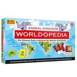 Auspicious Madzzle Worldopedia Animal Kingdom Presented by MadRat Games