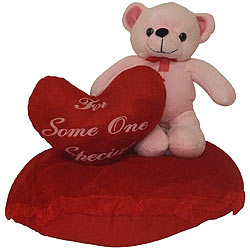 Dainty 'Eric on Heart' Intimating Teddy