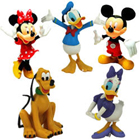 Admirable Arrangement of Mickey Mouse Clubhouse Figurines