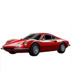Bburago's Winsome Promptness Ferrari Model Car