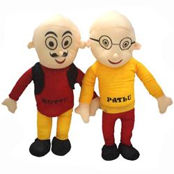 Cuddly Motu Patlu Soft Toys