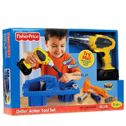 Spectacular Fisher-Price Drillin' Action Tool Set