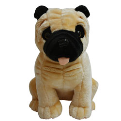 Softy N Cuddly Pug Soft Toy