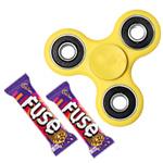 Winsome Fidget with Cadbury Chocolate Array