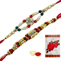 Dashing 2 or More Om Ethnic Rakhi