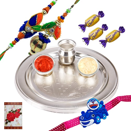 Exciting Rakhi Celebration Love Gift
