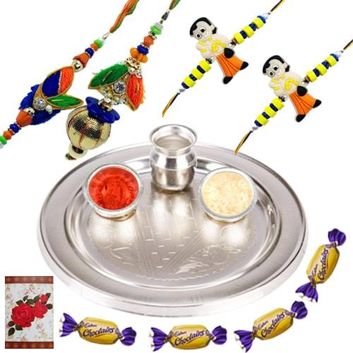 Fashionable Rakhi Special Gift Hamper