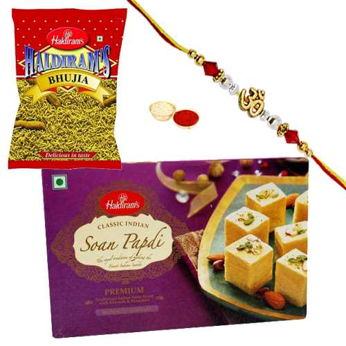 Auspicious Rakhi and Delightful Sweets from Haldirams