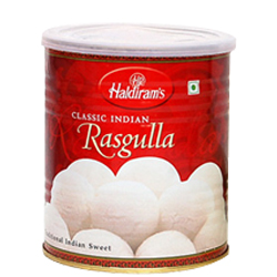 Mouth-Watering 1 Kg. Haldirams Rasgulla Pack