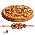 Free Kids Rakhi, Roli Tilak and Chawal along with Dominos Pizza Gift voucher