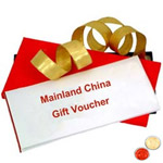 Mainland China Gift Vouchers Worth Rs.2000 with free Roli Tilak and Chawal