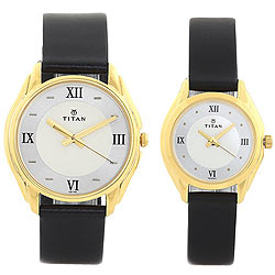 Exclusive Pair Watch from Titan