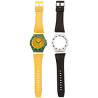Scintillating Analog Unisex Watch from Fastrack