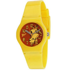 Trendy Animal Printed Yellow Coloured Kids Watch Manufactured by Titan Zoop