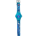 Exquisite Oceanic Printed Blue Coloured Watch for Kids Manufactured by Titan Zoop