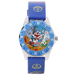 Stylish Multicoloured Doraemon Analoig Kids Watch