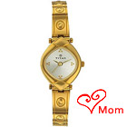 Fashionable Silver Dial Ladies Watch from Titan