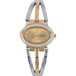 Mesmerizing Golden Dial Stylish Wrist Watch for Women